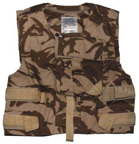 MFH Original Britannique DPM Desert Combat Gilet de Protection Body Armour Vest-Paintball-Army