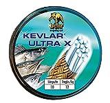 Behr Kevlar Ultra X - 10m Kevlarvorfach zum Raubfischangeln, geflochtene Vorfachschnur zum Deadbaitangeln, Vorfachmaterial zum Zanderangeln, Tragkraft:7 kg