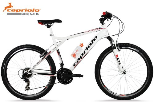Capriolo Mountainbike 26 Zoll /Cross Evo/, Shimano 21 Gang, Hardtail, inkl Trinkflasche, Modell 2013