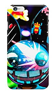 The Fappy Store dead mau5 plastic Back Cover for iphone 6
