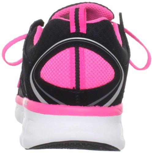 Skechers Synergy Ultimatum 11684, Sneaker donna Black/Hot Pink