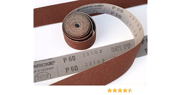 Emery Cloth Roll 180 grit 40mm x 5000mm Highest Quality 5 Metre 180grit Workshop Roll STARCKE Abrasive Flexible Cloth