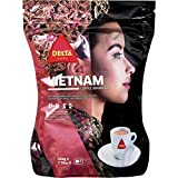Delta Ground Roasted Coffee from Vietnam for Espresso Machines