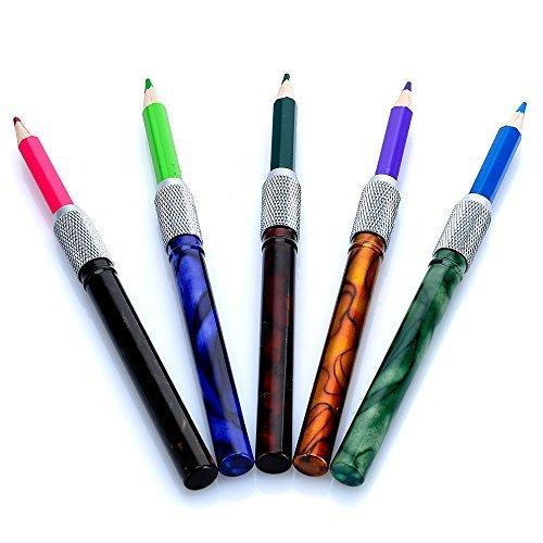 Juego de 5 extensores de lápices de colorear