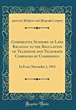 Comparative Summary of Laws Relating to the Regulation of Telephone and Telegraph...