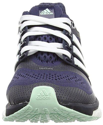 adidas  Energy Boost ESM, Chaussures de course femmes Gris - Grau (Midnight Grey F15/Ftwr White/Frozen Green F15)