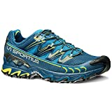 LA SPORTIVA - ULTRA RAPTOR - SCARPA UOMO OUTDOOR - MOUNTAIN TRAIL RUNNING FOOTWEAR - BLUE / SULPHUR...