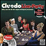 Hasbro - PARKER, Cluedo Live-Party