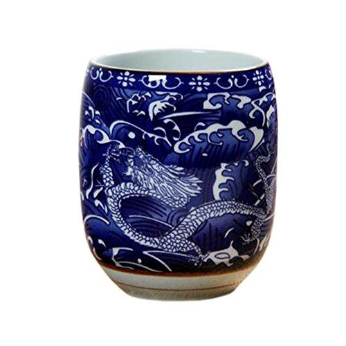 Blancho 2 PCS Tasses à thé en céramique chinoise et japonaise Tasse à bière en tasse à thé Kung Fu Tasse à eau #13
