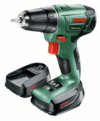 Bosch DIY Akku-Bohrschrauber PSR 14,4 LI Toolbox, 2 Akku, Ladegerät, 241 tlg. Zubehör-Set, Toolbox, Karton (14,4 V, 1,5 Ah, max. Bohr-Ø: Holz: 20 mm, Stahl: 6 mm) - 3