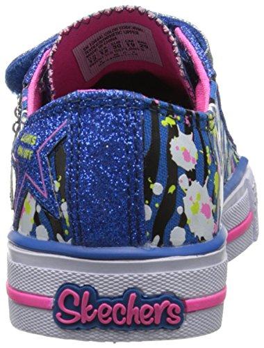 Skechers - ShufflesGlitter N Glitz, Sneakers per bambine e ragazze Blu (RYMT)