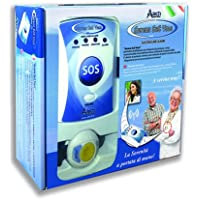 Pflegeruf-Set Sereno SOS PLUS mit (Not-) Ruf an Handy oder Telefon – über Funk-Armbandsender und Mobilfunknetz preisvergleich bei billige-tabletten.eu