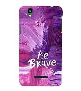 EPICCASE Brave you Mobile Back Case Cover For YU Yureka (Designer Case)