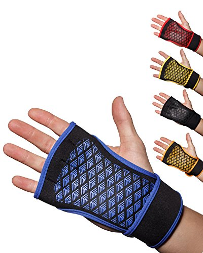 Cross-Training-Handschuhe, blau