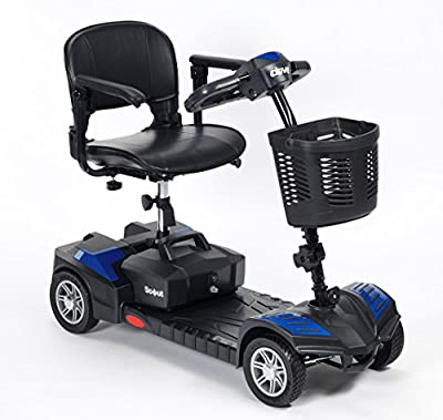 Drive DeVilbiss Scout Venture Mobility Scooter Lightweight Folding 4 Wheel Electric Scooters for Adult