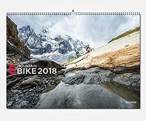 eBike MTB Kalender 2018 // DIN A2 // eMTB MTB // e-Bike Bike // e-Mountainbike Mountainbike // Mountainbike // Wandkalender by Markus Greber