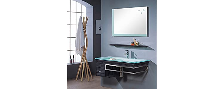 Muebles de ba o armarios espejos estanter as for Armarios bano amazon
