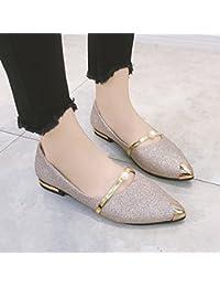 GAOLIM Ayuda Bajo Los Zapatos Solo Cubrezapatos Lazy Bones Pie Plano Zapatos Zapatos De Mujer Con Muelle De Dama...