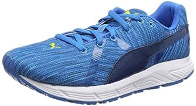 Puma 01 Bravery, Chaussures de sports extérieurs garçon - Bleu (Cloisonne), 35.5 EU (3 UK)