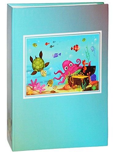 einsteckalbum-unterwasserwelt-fische-gebunden-zum-einstecken-gross-fur-bis-zu-200-bilder-10x15-fotoa
