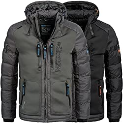 Geographical Norway BREVSTER Herren Winterjacke Jacke Outdoor Ski warm Gr. S-XXXL 2-Farben