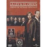 La Ley y El Orden UVE Temporada 6 Serie de TV Version Latina