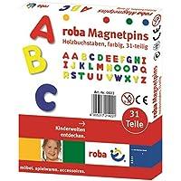 roba-kids - Juego de imanes con alfabeto, (roba Baumann 0021)