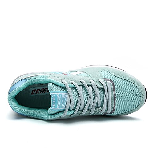 Scarpe da Corsa Donna Scarpe Da Sportive Running Basket Sneakers 35-40 Verde