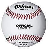 Wilson 1050B Offizielles Liga Praxis Baseball weiß