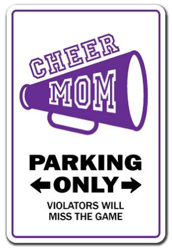 (SignMission Cheer Mom Schild Leader Cheerleader Gear Poms Megafon Cheers |-| 30,5cm Hoch)