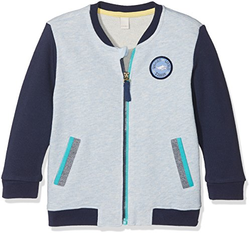 ESPRIT KIDS Baby-Jungen RL1702202 Strickjacke, Blau (Light Heather Blue 406), 62 -