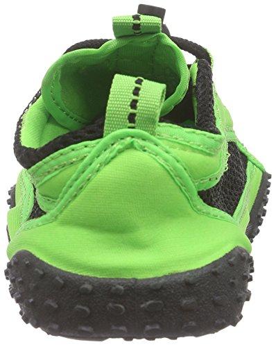Playshoes Badeschuhe, Aquaschuhe, Surfschuhe Unisex-Erwachsene Aqua Schuhe Grün (grün 29)