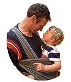 Babytragetuch ✮ elastisches Tragetuch Baby Carrier ✮ Tragetücher für Männer und Frauen ● Babytragen babytuch ● Halten Sie Ihr Baby am Herzen liegt - 8