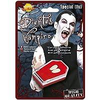 Guirca Colmillos Vampiro con Adhesivo, Talla única (2186.0)