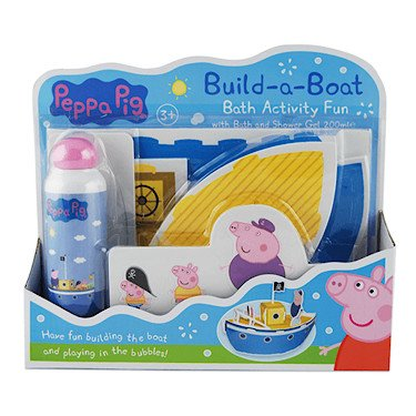 Peppa Pig EVA build-a-boat Gift set