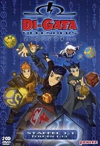 Di-Gata Defenders - Staffel 1.1, Episoden 01-13 [2 DVDs]