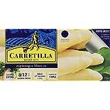 Carretilla - Espárragos Blancos Extra - 230 g - [Pack de 8]