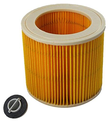 Patronen Ersatzfilter für Kärcher WD 2, WD 3, WD 3200, WD 3300 M, WD 3500 P Kärcher MV3, SE 4001. SE 4002, 1:1 optimiert und passend für 6.414-522.0