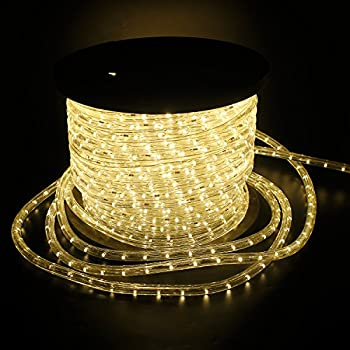 Led Lichterschlauch Lichtschlauch Lichterkette Licht Leiste 36ledsm Schlauch Für Innen Und Außen Ip44 30m Warmweiß 0