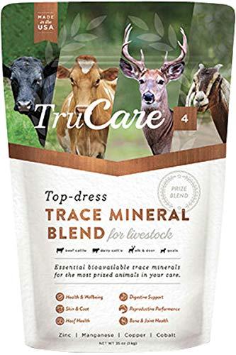 TruCare 4 Top-Dress Trace Mineral Blend für Viehbestände: Rindrinder, Milchrinder, Hirsch, Elch, Ziegen (Zink, Mangan, Kupfer, Kobalt)