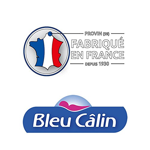 Bleu Câlin Lot de 2 Oreillers Sur Mesure Blancs 65 x 65 cm 11