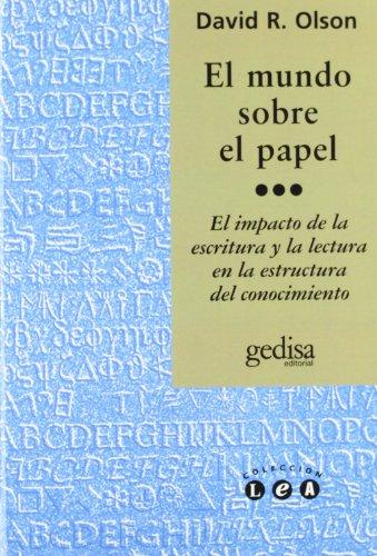 El mundo sobre el papel (Lea) por David R. Olson