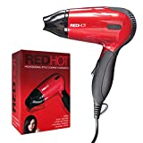 Red Hot Benross Compact 1200W Travel Hair Dryer with Folding Handle