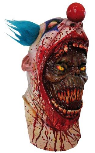Maske Clown blutrünstig für (Clown Maske Demon)