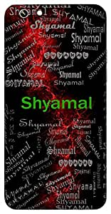 Shyamal (Black, Dark Blue) Name & Sign Printed All over customize & Personalized!! Protective back cover for your Smart Phone : Samsung Galaxy Grand Max G720