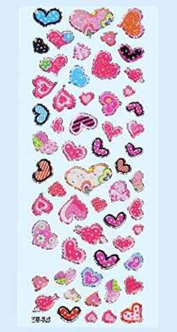 Glossy-Stickers cœur II