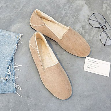 Wuyulunbi @ Winter Comfort - Zapatos De Mujer - Punteras Planas Para Exteriores Us8.5 / Eu39 / Uk6.5 / Cn40
