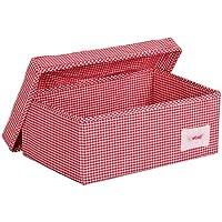 Preisvergleich für Minene 1516 Aufbewahrungsbox, klein, rot Karo
