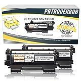 DOPPELPACK Patronenbob® SUPER XXL TONER 5.400 Seiten kompatibel für Brother TN-2220 / TN-2010 für HL-2240 HL-2240D HL-2240L HL-2250 HL-2250N HL-2250DN HL-2270 HL-2270DW DCP-7060 DCP-7060D DCP-7065 DCP-7065DN MFC-7360 MFC-7360N MFC-7460 MFC-7460DN MFC-7860 MFC-7860DW