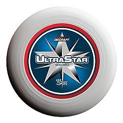 Discraft Ultrastar 175g Ultimate Frisbee Supercolor Center Star